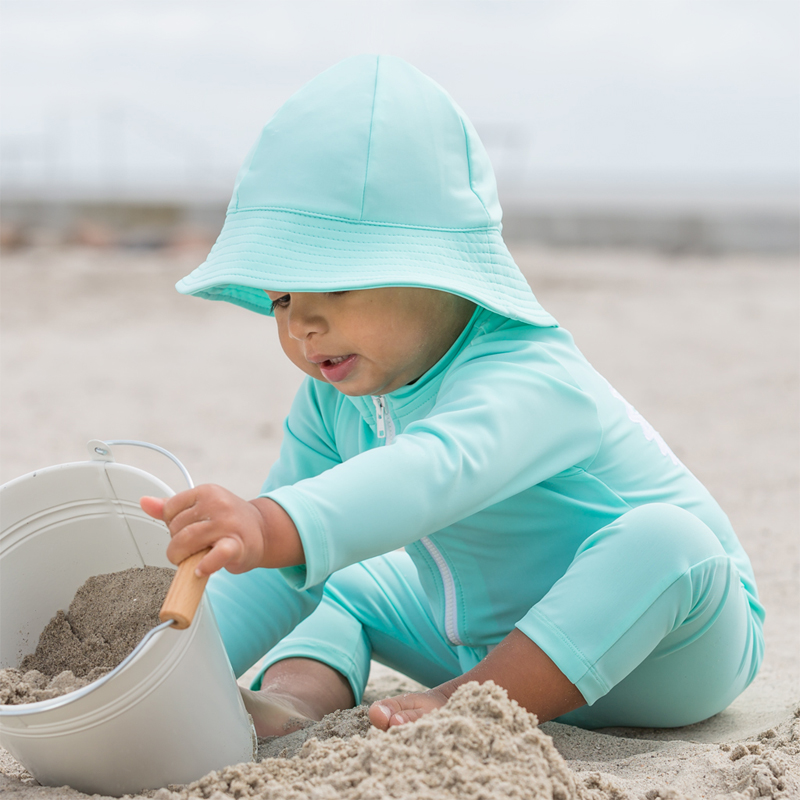 Lou - STAR sunsuit L/S - mint