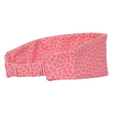 Petit Crabe Pink Flower Sophie Headband for girls, sun protective clothing for kids.