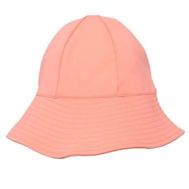 Petit Crabe coral Frey sun hat for girls. UV sun protective swimwear for children.