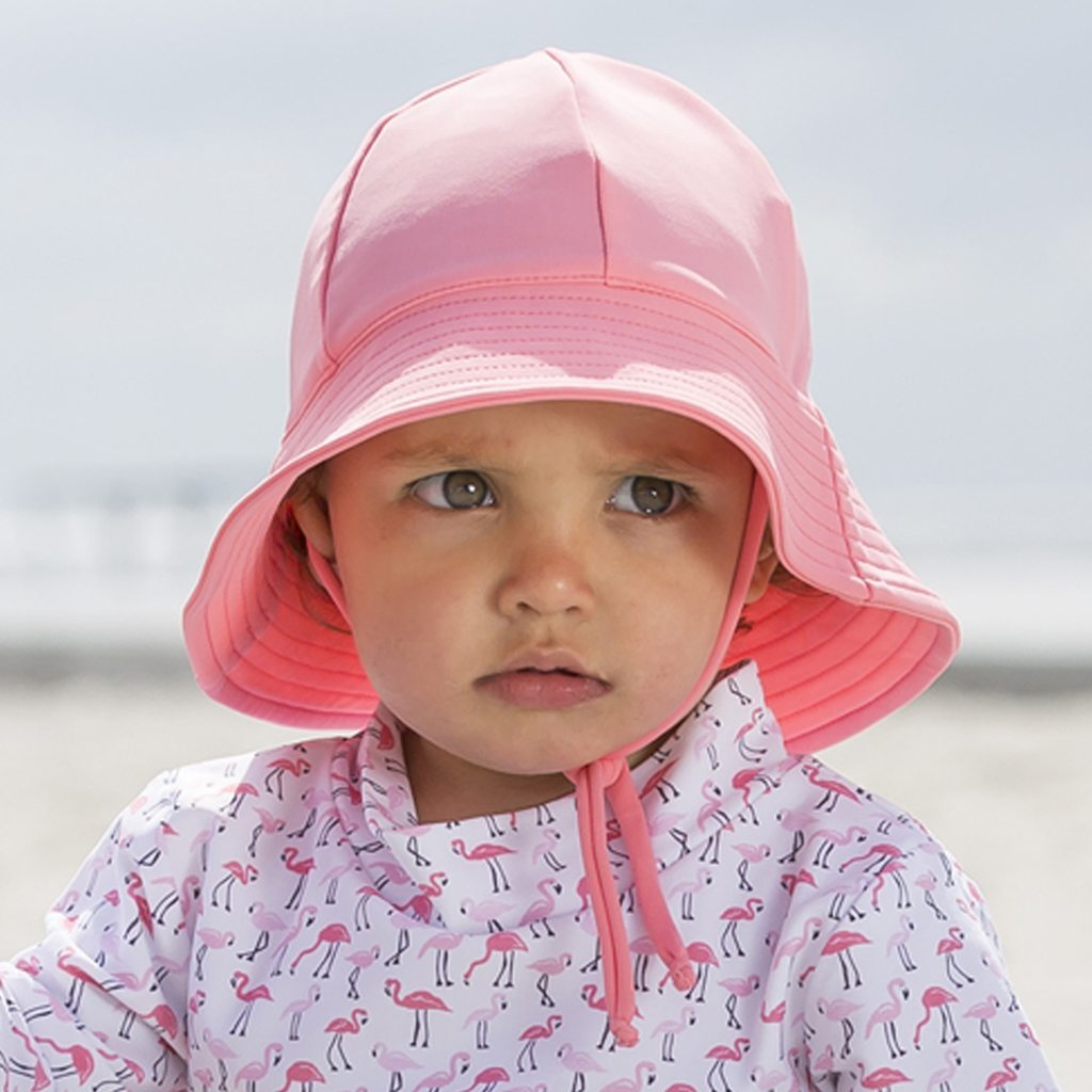 Petit Crabe UPF 50+ petrol Watermelon Frey sun hat. UV sun protective summerhats and clothing for children.