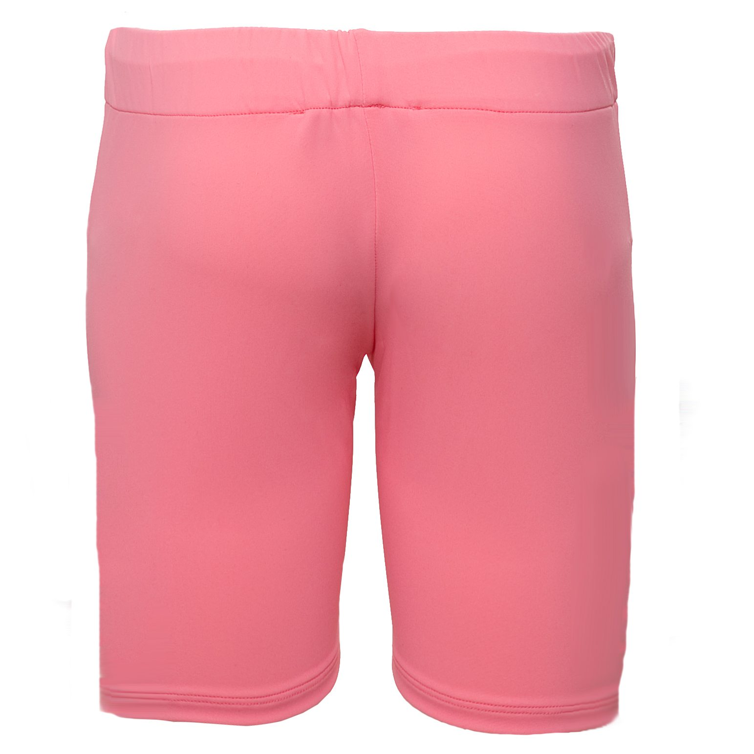 Petit Crabe pink watermelon Alex swimshorts for girls. UV sun protective swimwear for kids.