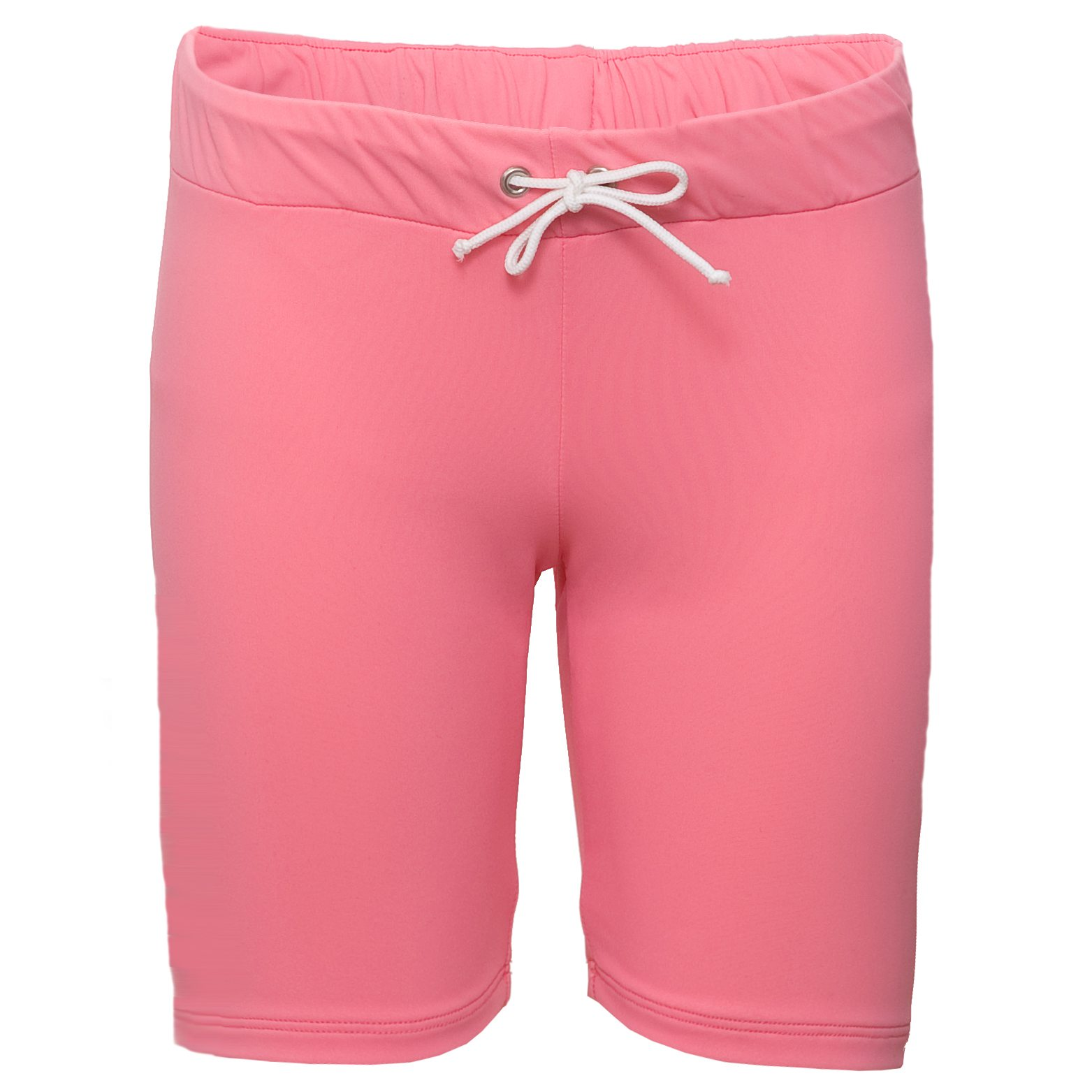Petit Crabe pink watermelon Alex swimshorts for girls. UV sun protective swimwear for children.