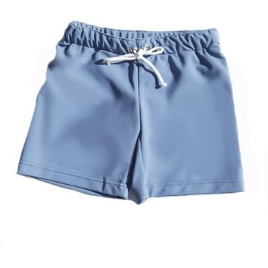 Petit Crabe Alex grey swim shorts and trunks for kids, uv sun protective