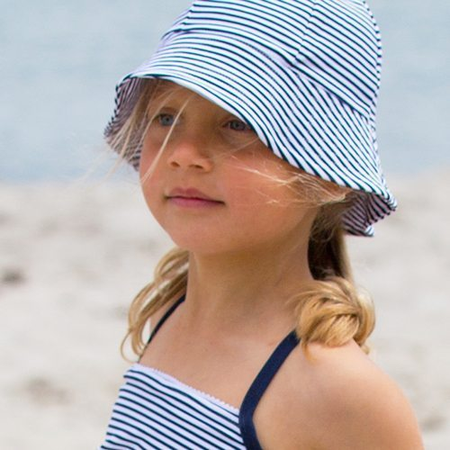 Frey Sun hat - pencil-stripes