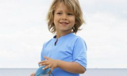 Petit Crabe Sun Protective Clothing For Kids, Boys